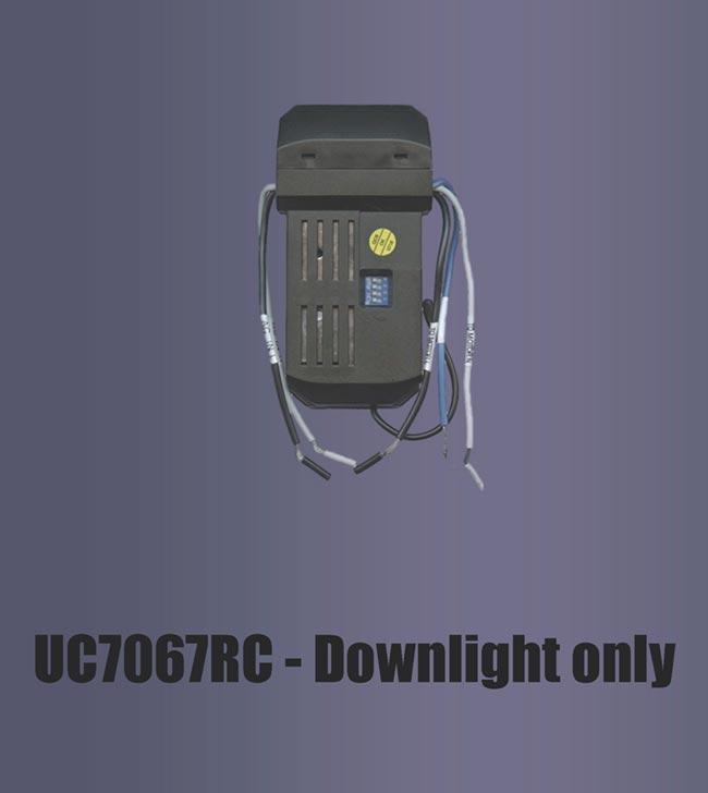 Uc7067rc Downlight Only Fan Man Repair