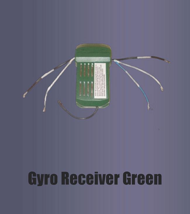 Gyro Receiver Green Fan Man Repair