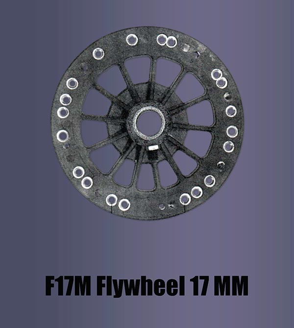 F17m Flywheel 17mm Fan Man Repair